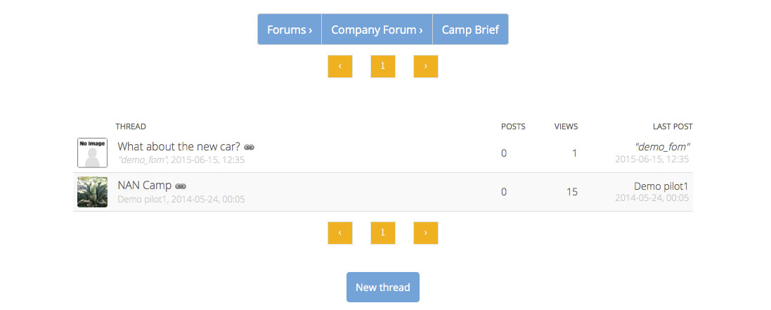 Image of company Forum